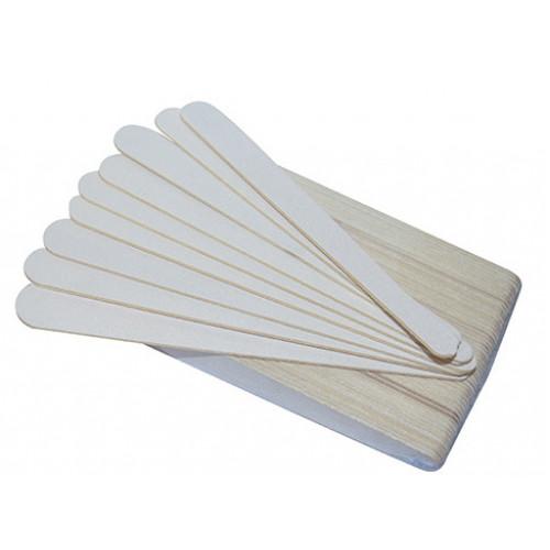 ПИЛКА 100/180 грит одноразовая на деревянной основе 17,8 см.