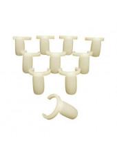 Типсы с кольцом для образцов лаков, гель-лаков (упаковка 50 штук)