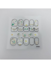 3D наклейки для дизайна ногтей №82
